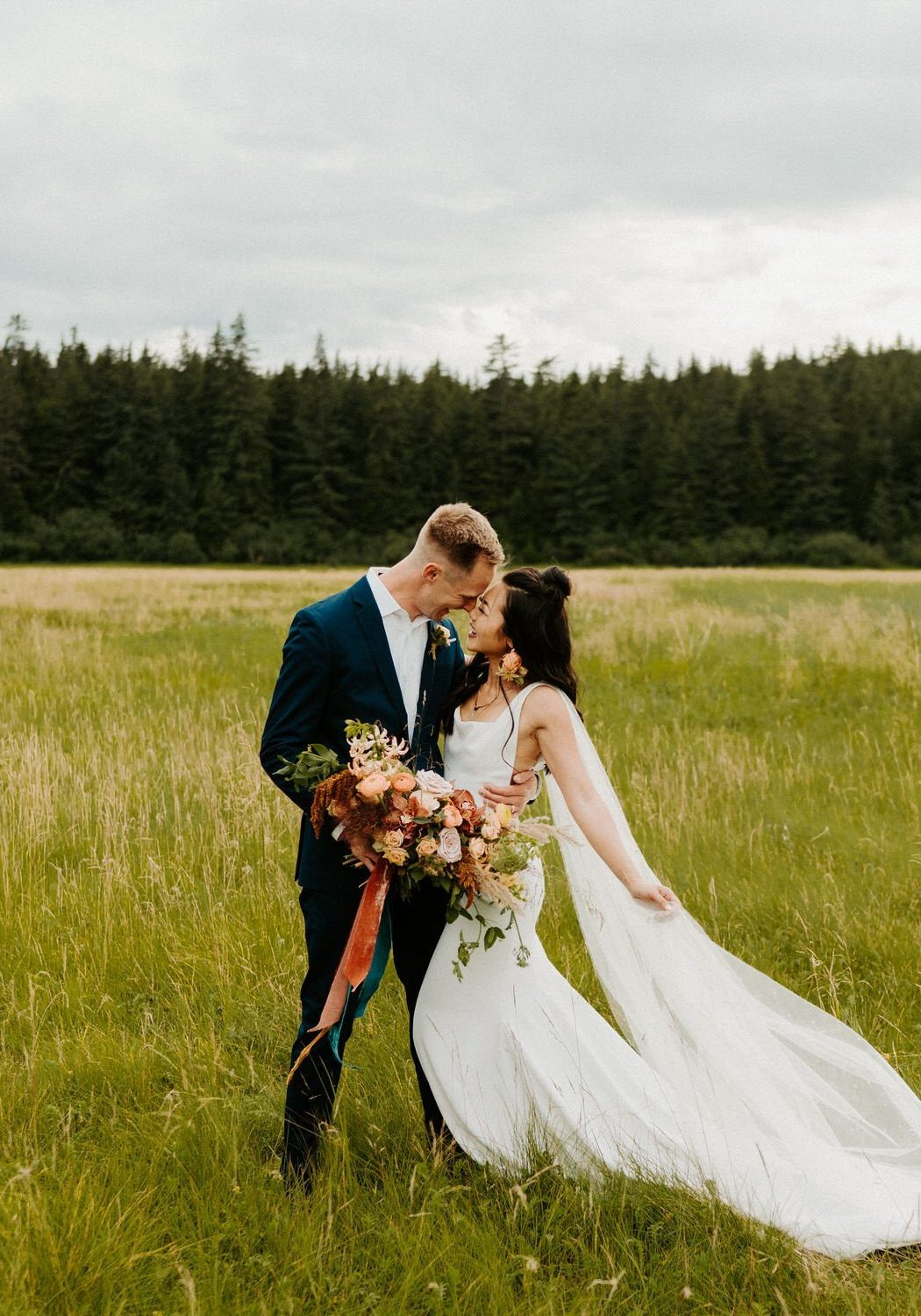 Woodsy Elopement in Alaska | Natalie + Ryan