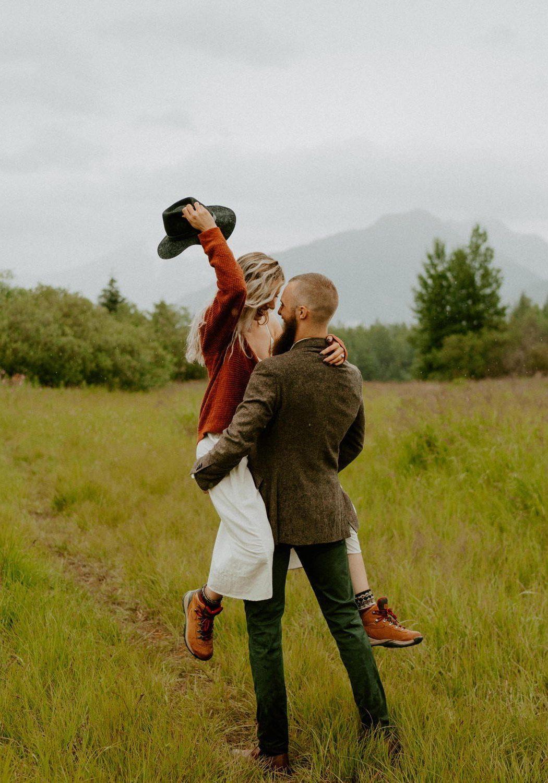 Rainy Day Engagement Session   Nina + Ben