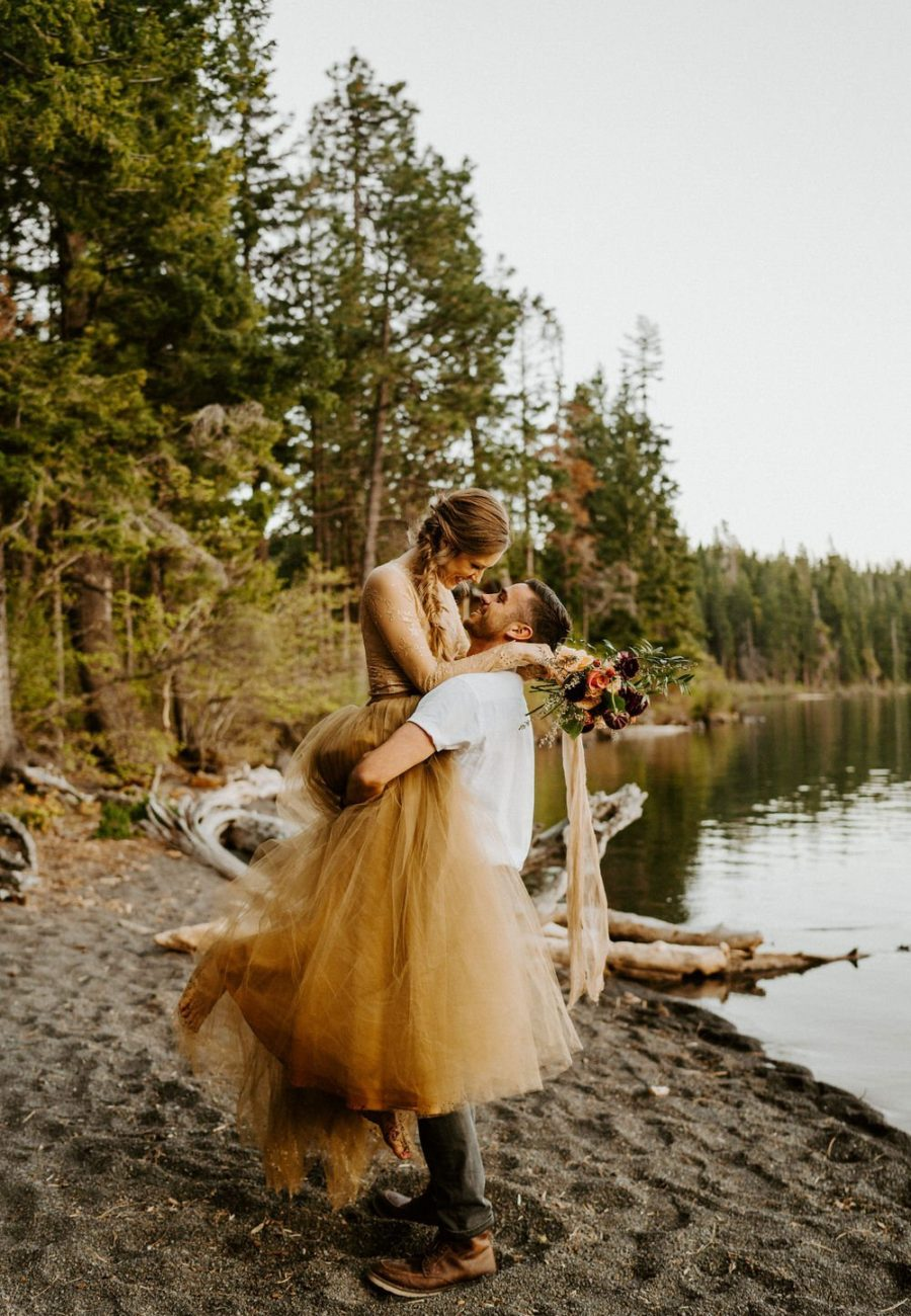 Intimate Oregon Elopement