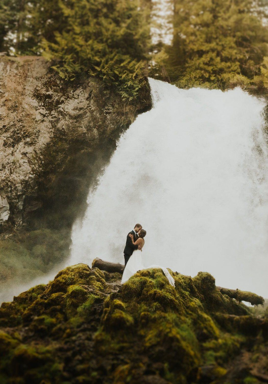 Intimate Elopement in Bend, Oregon | Morgan + Brad