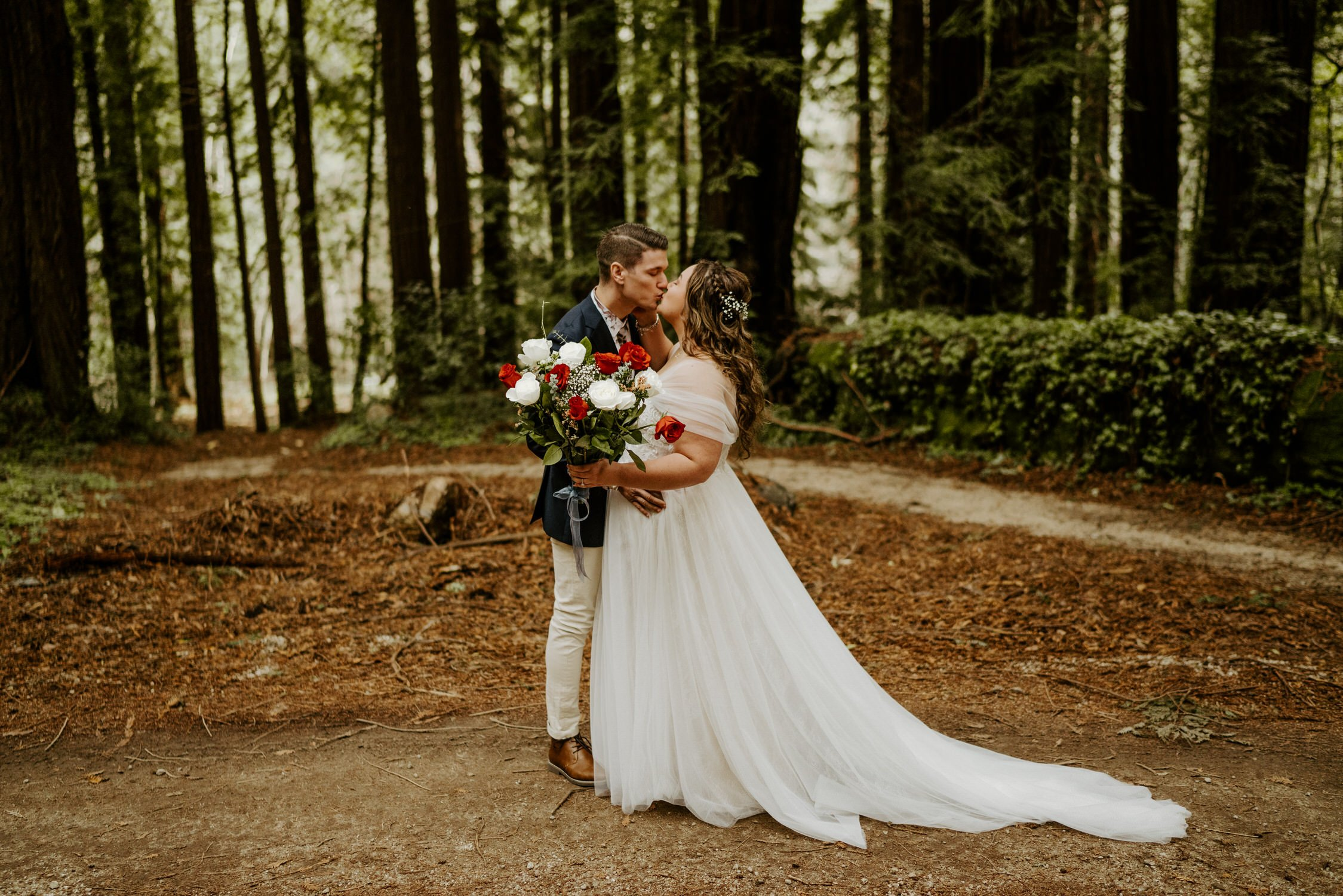 Big Sur Forest Elopement