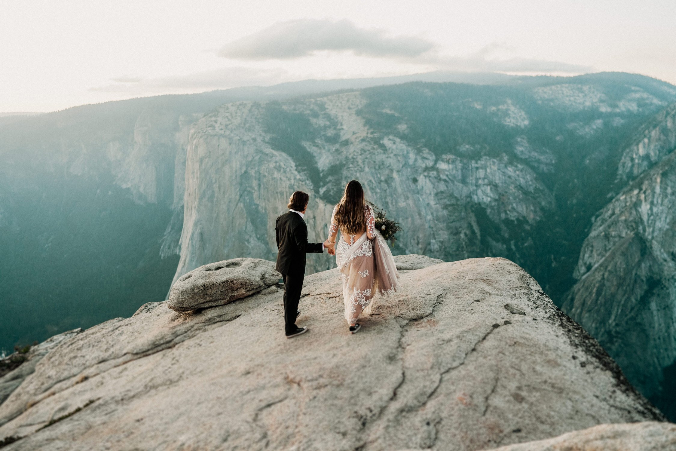 Yosemite Elopement at Taft Glacier Point