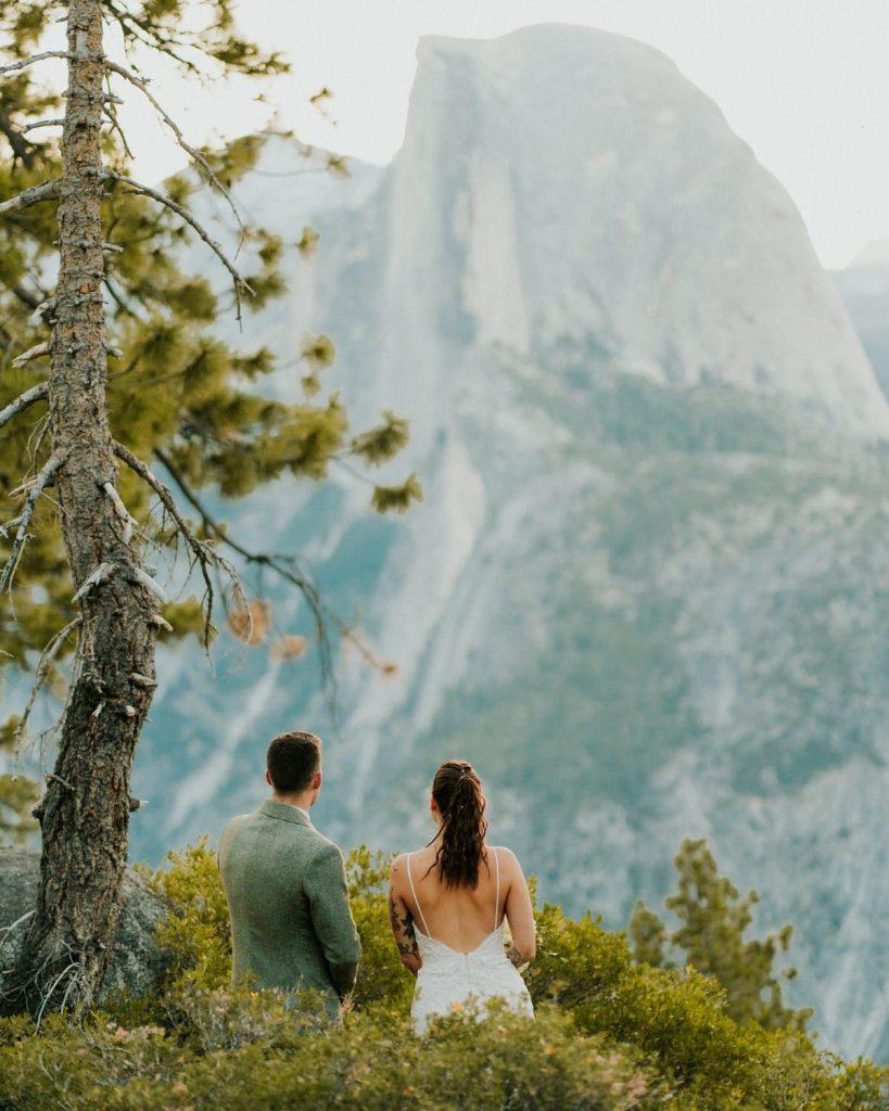 Yosemite Elopement at Taft Glacier Point