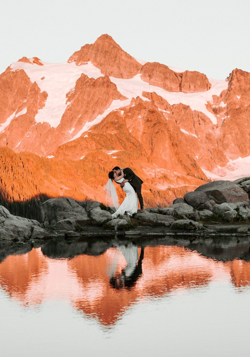 North Cascades National Park Elopement | Alexa and Phillip